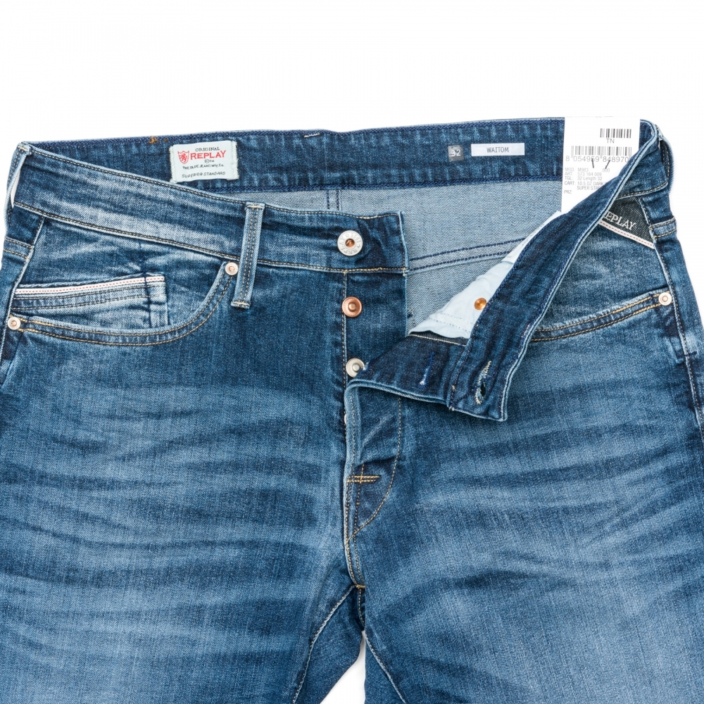 31ee2378b64 Replay Waitom Regular Fit Mens Jeans M983 .000.573 164 - Mens from ...