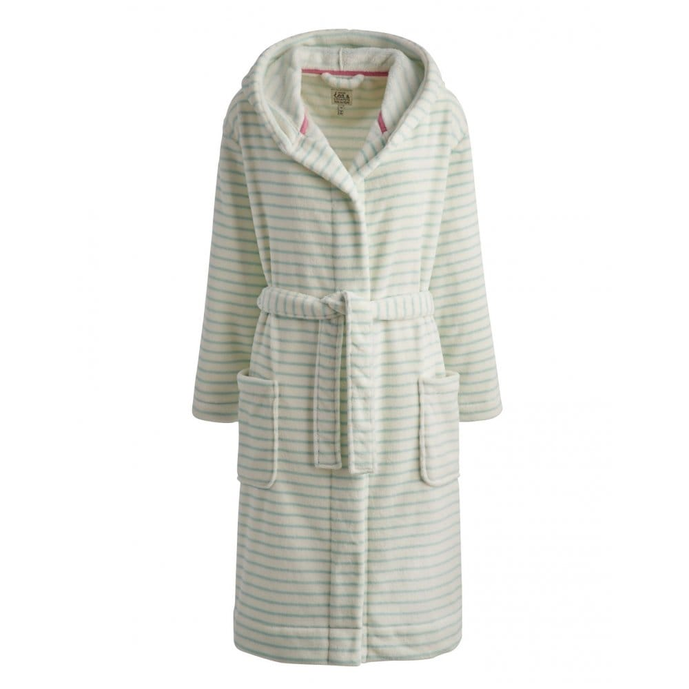 Joules Rita Ladies Fleece Dressing Gown (S) - Womens from CHO ... 5dc4fbff8