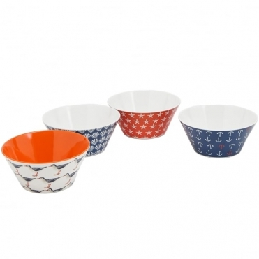 Sable Set of 4 Bowls (W)