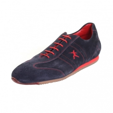 Scimitar Suede Mens Trainer