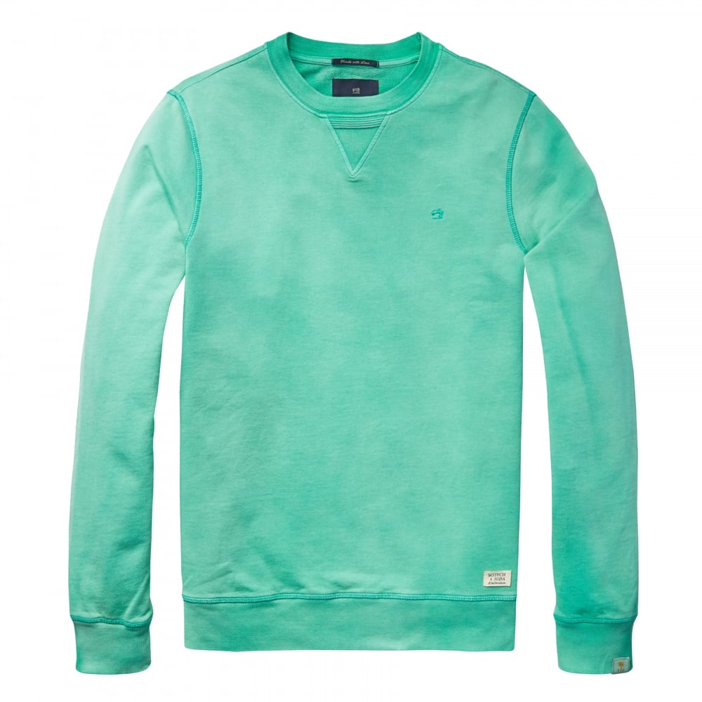 scotch soda classic garment dyed mens sweat mens from cho