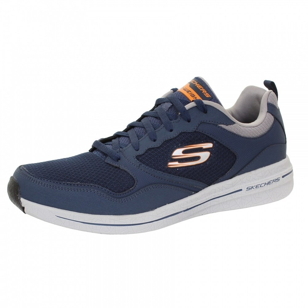 skechers burst 2.0 trainers mens