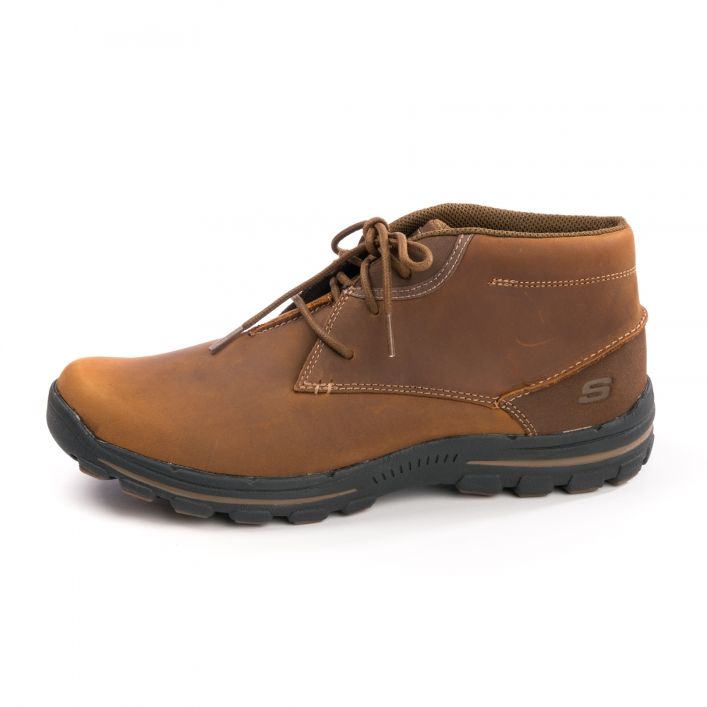 skechers relaxed fit mens boots