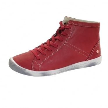 Isleen Smooth Leather Womens High Top