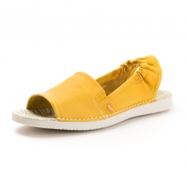 3526a09e8e4 Softinos Tee430sf Washed Leather Womens Sandal