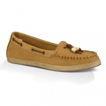 Suzette Ladies Moccasin Shoe