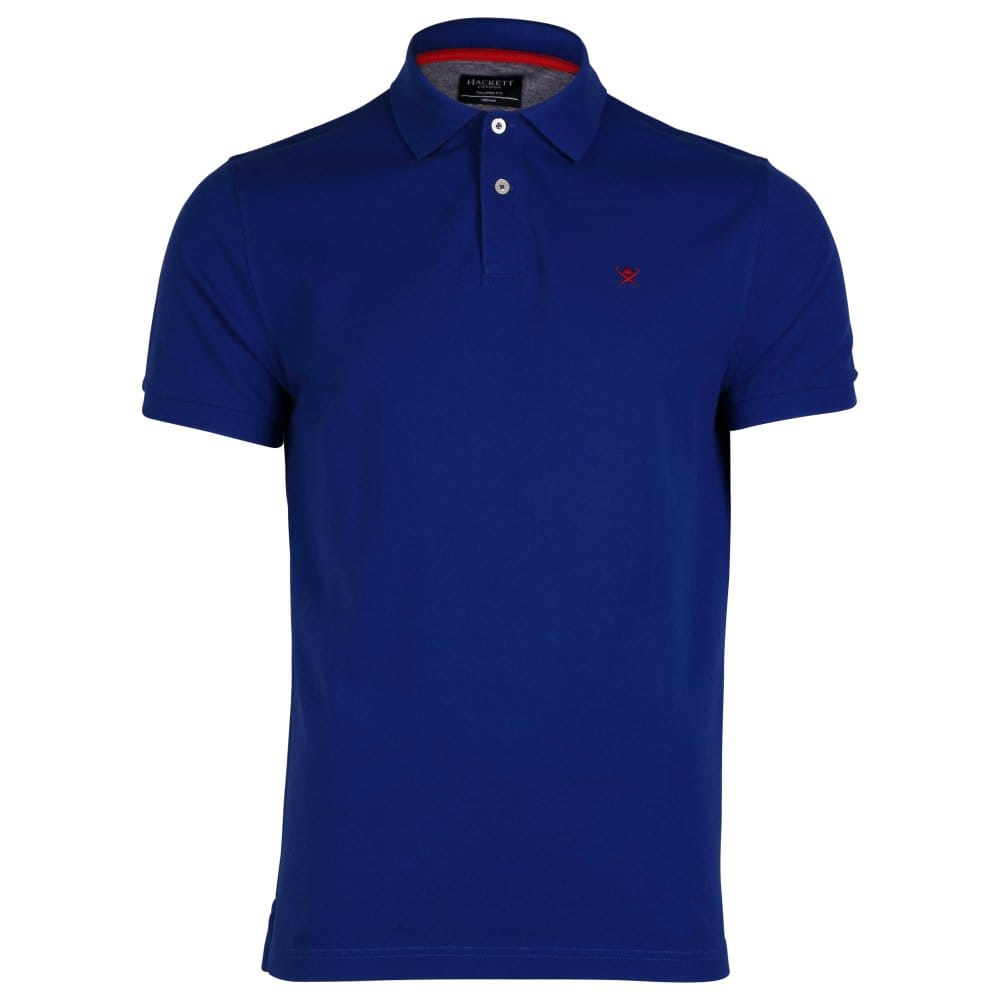 Hackett tailored logo mens polo shirt mens from cho for Tailored shirts for men