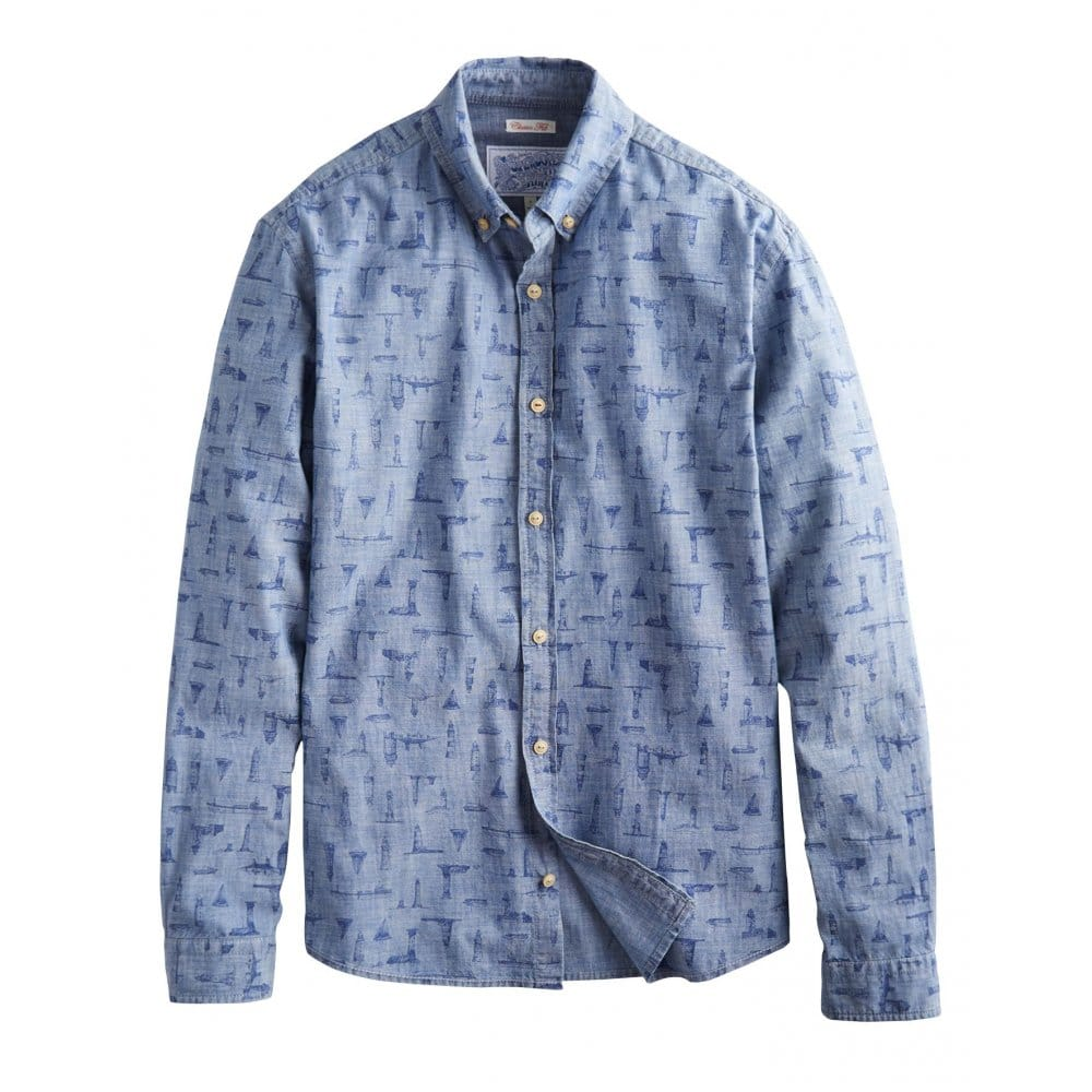Chambray & Denim Shirts for Men. Chambray shirts from A&F are a year-round staple for the modern man. We have the latest styles for guys looking for a relaxed look that updates easily from day to night.