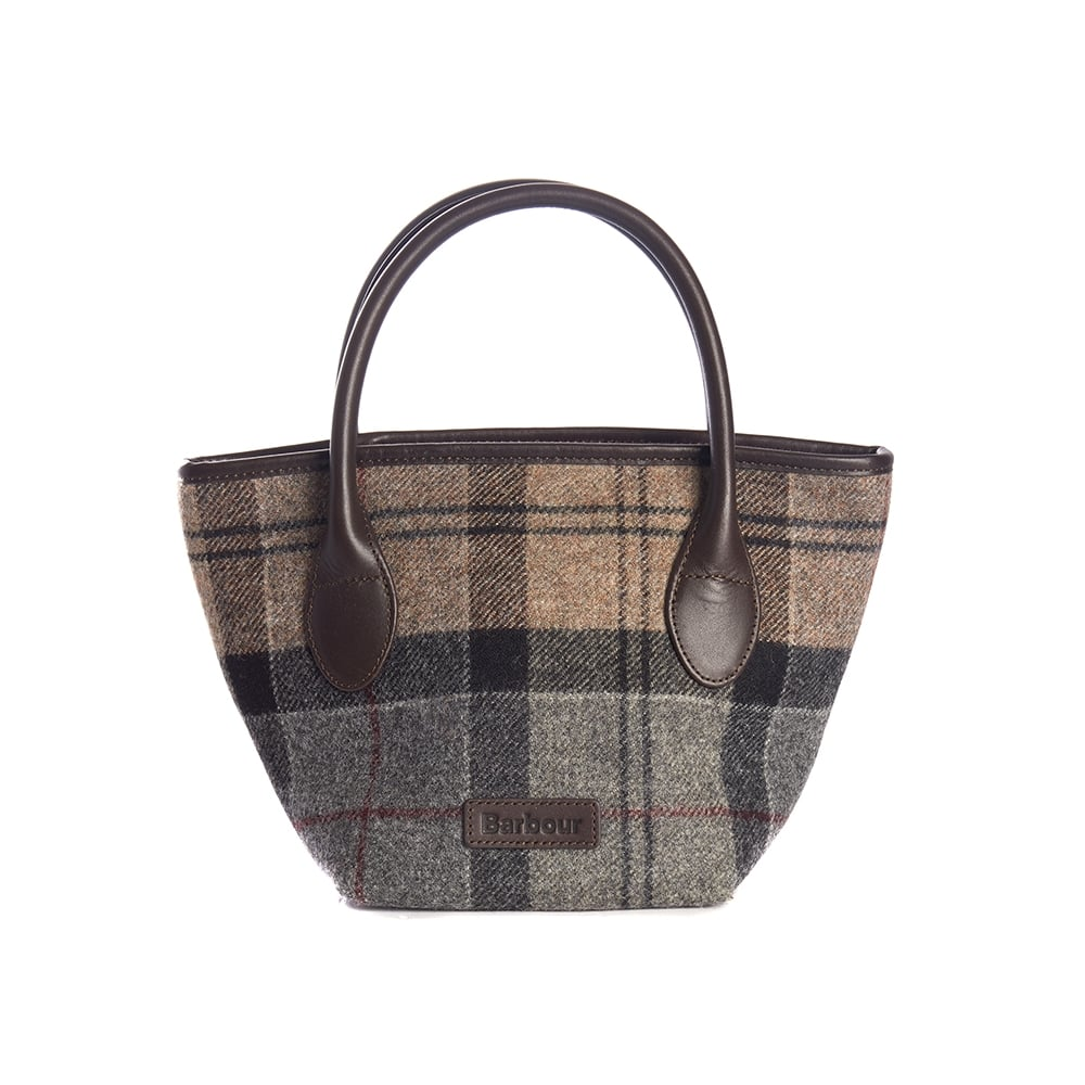 efa9af83172a Barbour Tartan Ladies Mini Tote - Womens from CHO Fashion and ...