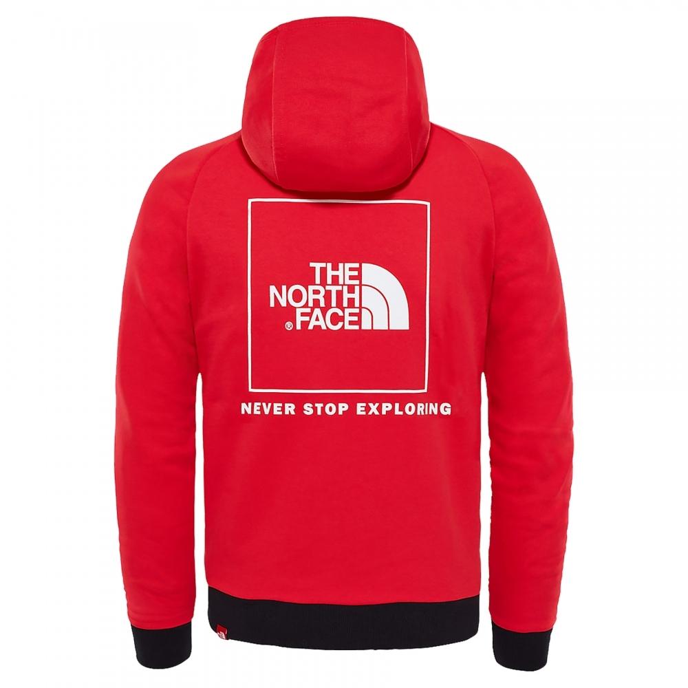 468bc5935a The North Face Raglan Red Box Mens Hoodie - Mens from CHO Fashion ...