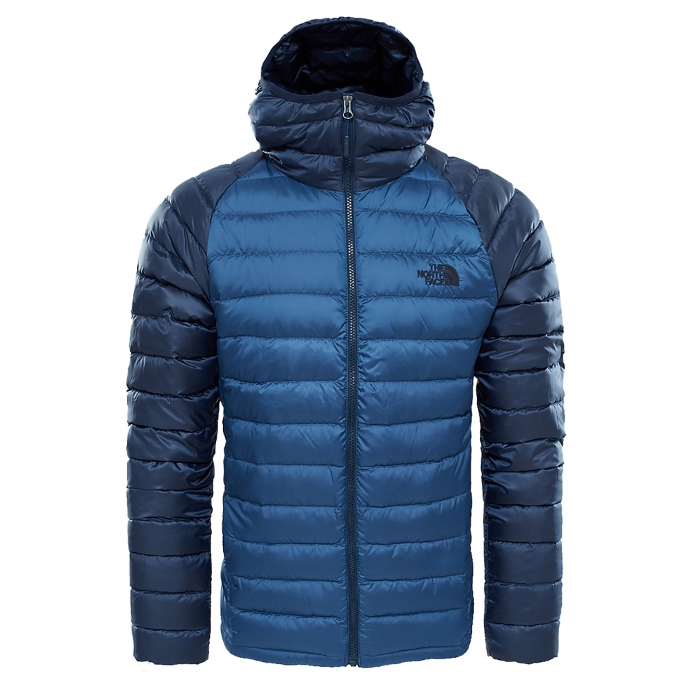 the north face trevail mens hoodie quilted jackets from cho fashion and lifestyle uk. Black Bedroom Furniture Sets. Home Design Ideas