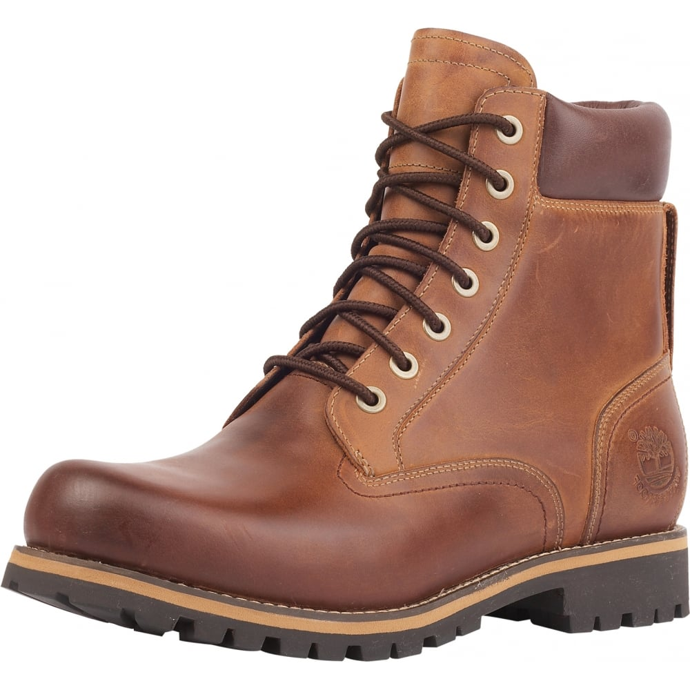 timberland earthkeepers rugged 6-inch mens boots brown