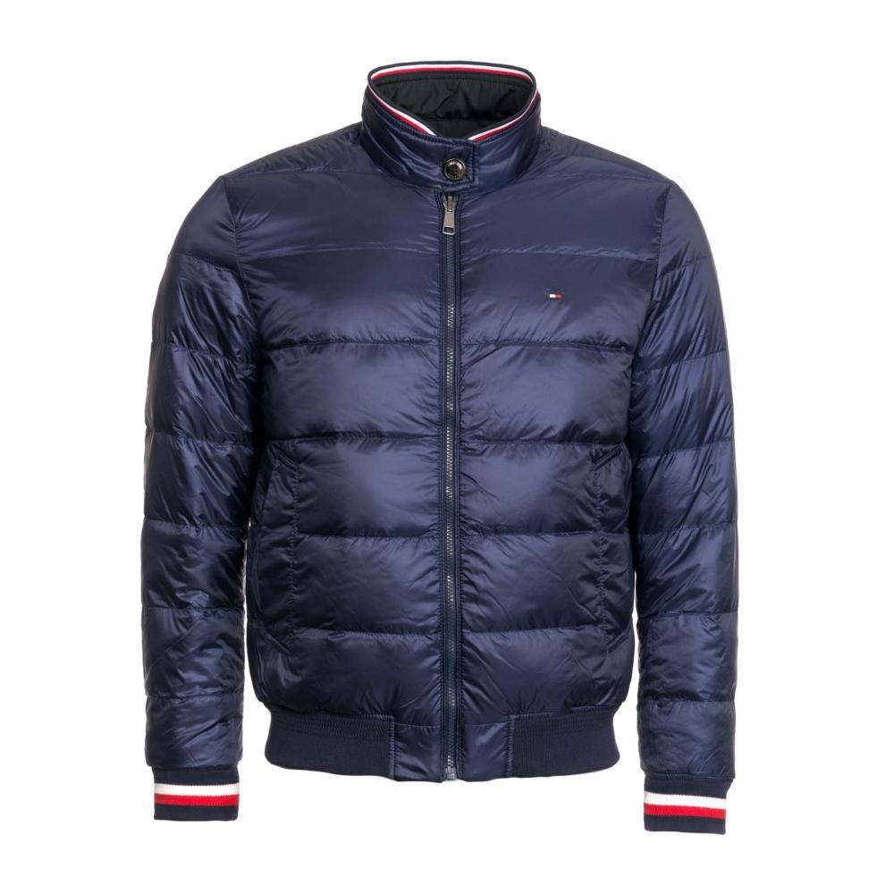 Neuestes Design modischer Stil elegantes Aussehen Tommy Hilfiger Tommy Hilfiger Mens Reversible Down Jacket