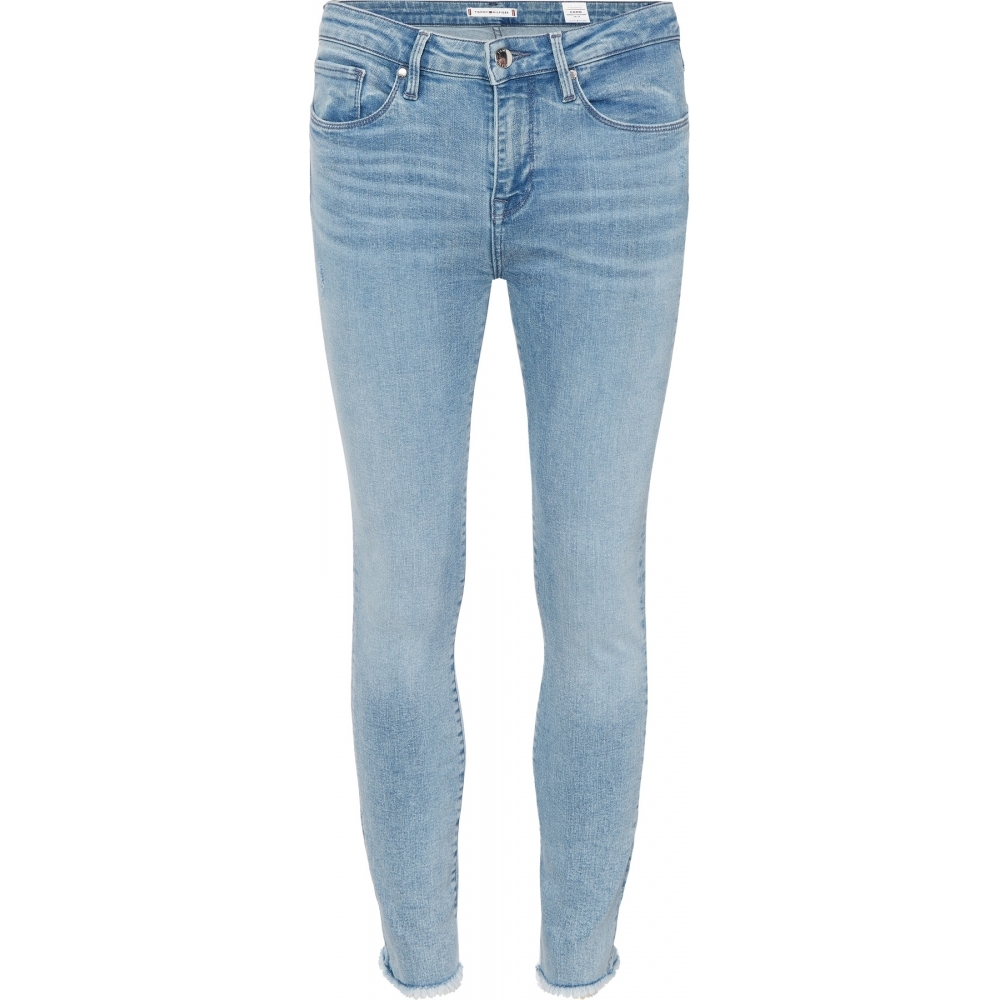 9dbf5795 Tommy Hilfiger Womens Como Skinny Raw Jeans - Womens from CHO ...