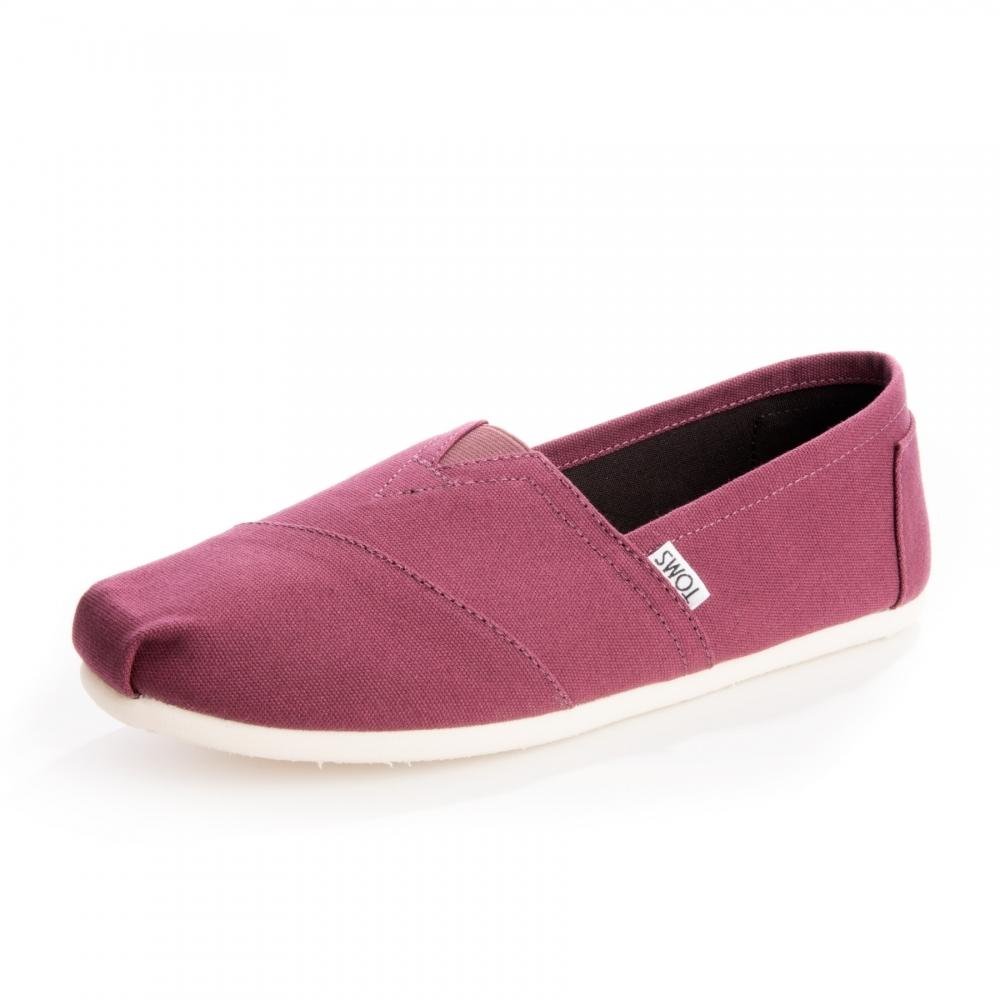 51dd1bcab9b TOMS Alpargata Mahogany Red Canvas Mens Espadrille - Footwear from ...