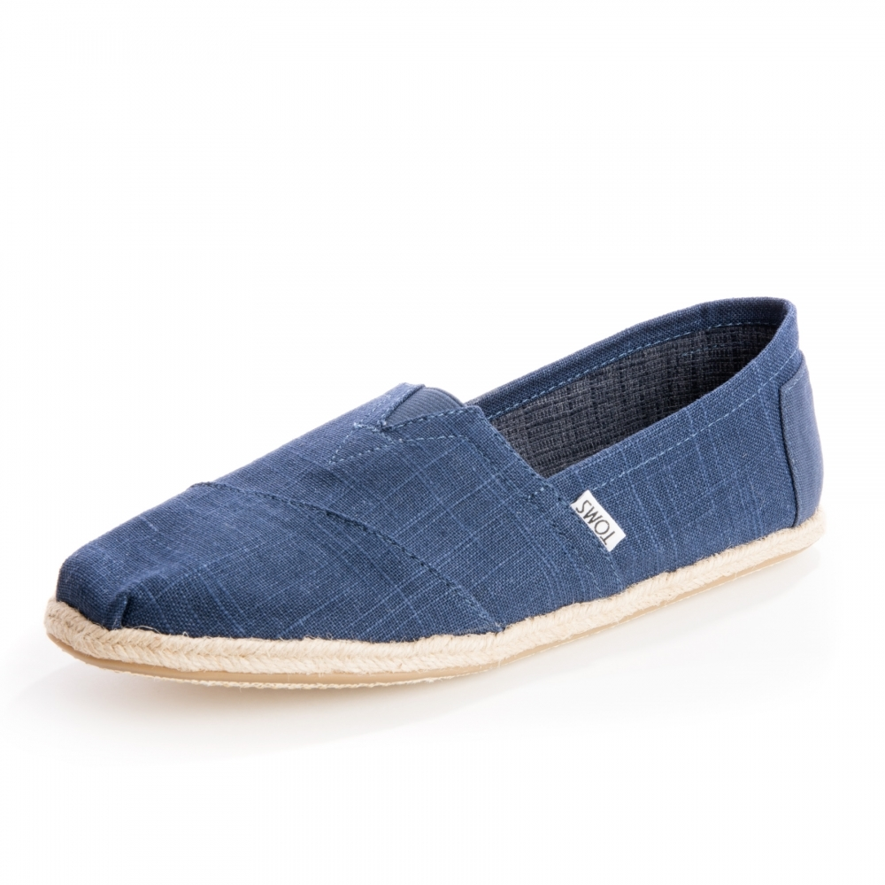 79c2ac021 TOMS Alpargata Navy Linen Rope Sole Mens Espadrille - Footwear from ...
