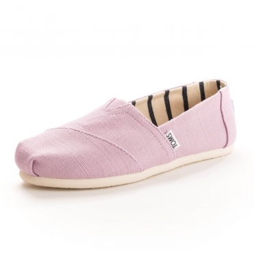 1fdd1cd3076 TOMS Alpargata Soft Lilac Heritage Canvas Womens Espadrille