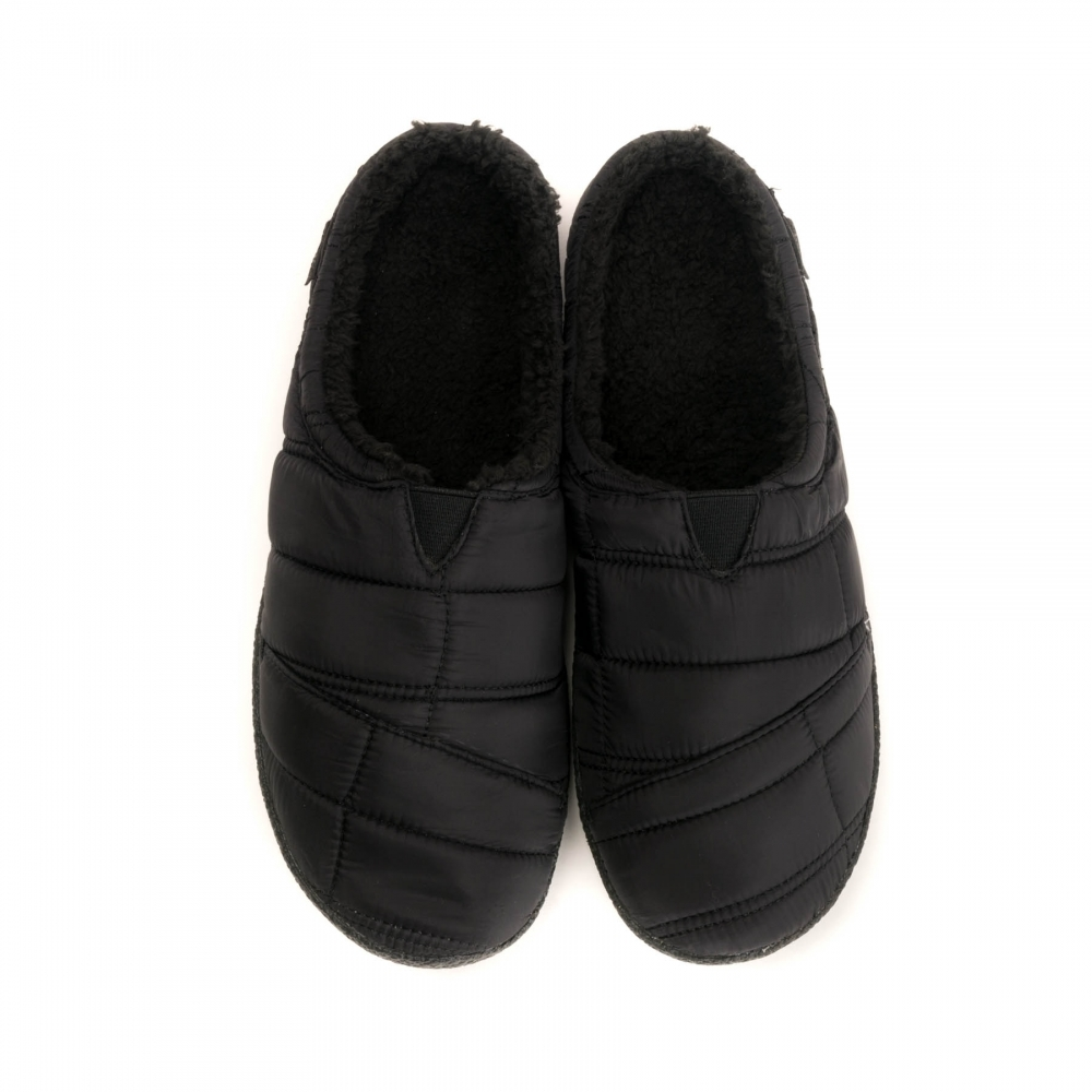 TOMS TOMS Black Quilted Mens Berkeley Slippers