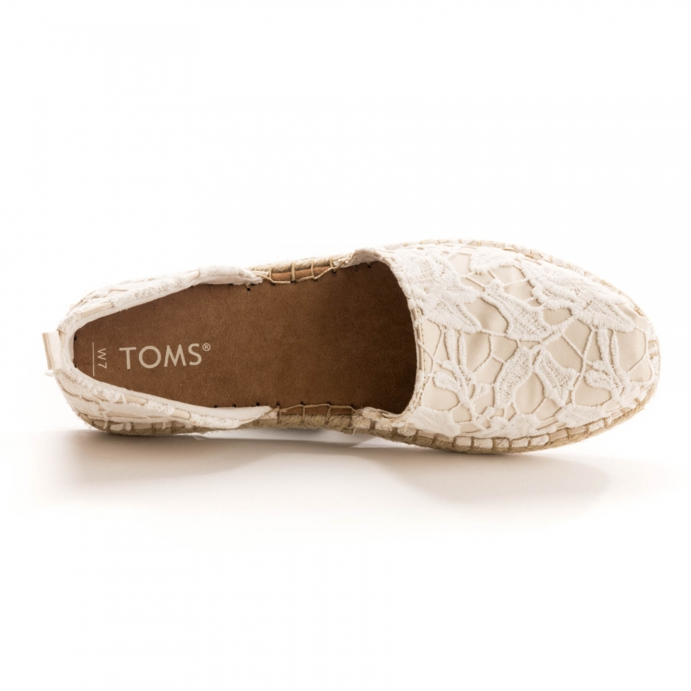 fa56faf3272 TOMS Katalina Birch Floral Lace Womens Espadrille - Womens from CHO ...