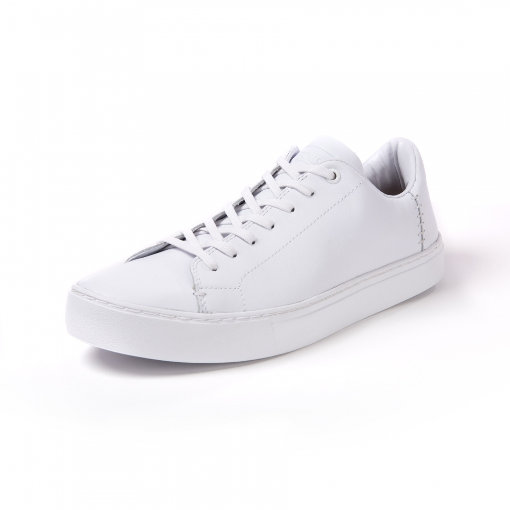 07fa100b77 TOMS Lenox White Leather Mens Sneaker - Footwear from CHO Fashion ...