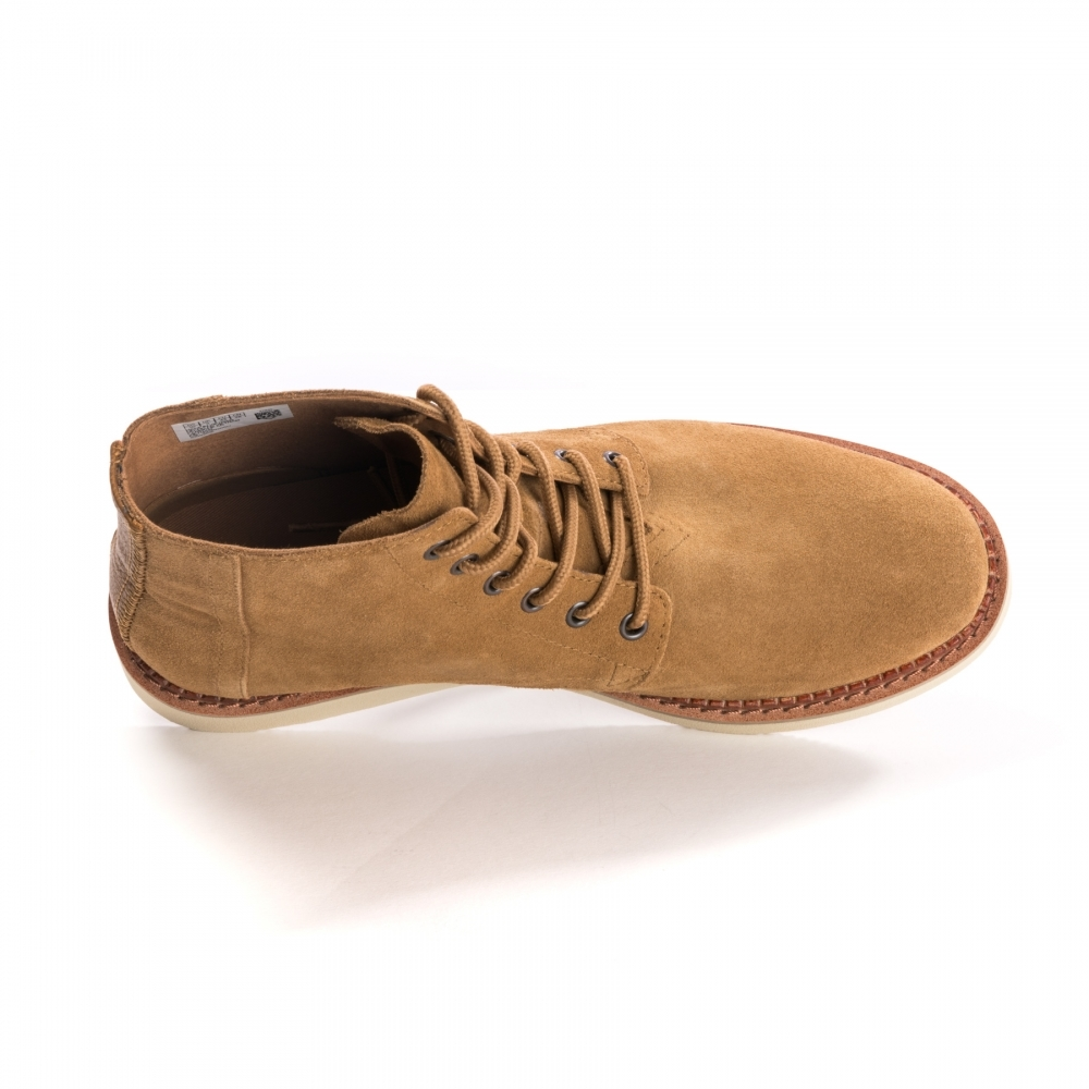b18715923d2 TOMS Porter Toffee Suede Mens Boot - Footwear from CHO Fashion and ...