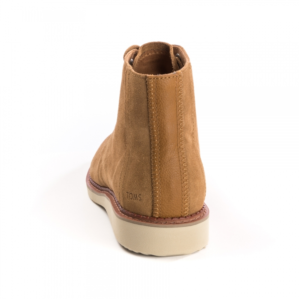 734a3306065 TOMS TOMS Porter Toffee Suede Mens Boot