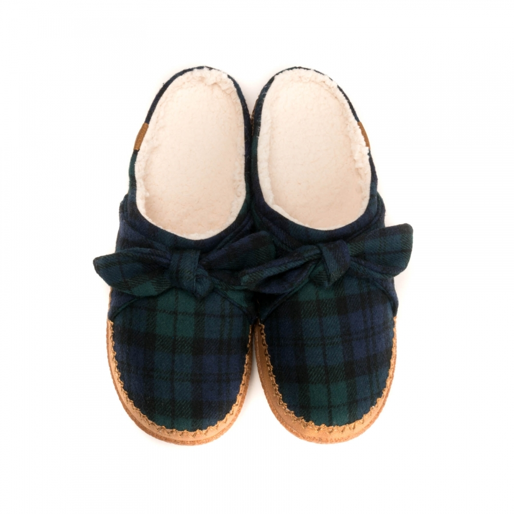 44bd1700af5 TOMS Spruce Plaid Felt Womens Ivy Slipper - Womens from CHO Fashion ...