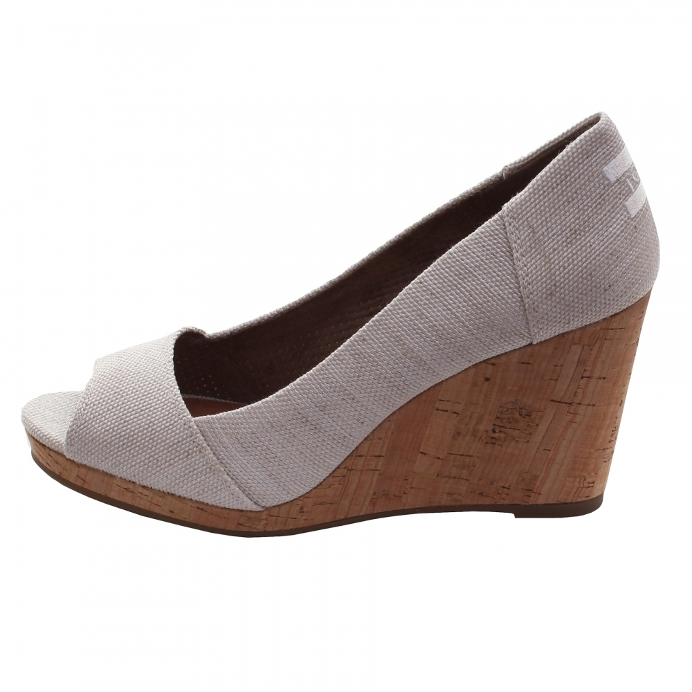 8e2623fb0f5 TOMS Stella Natural Yarn Dye Womens Wedge - Womens Shoes