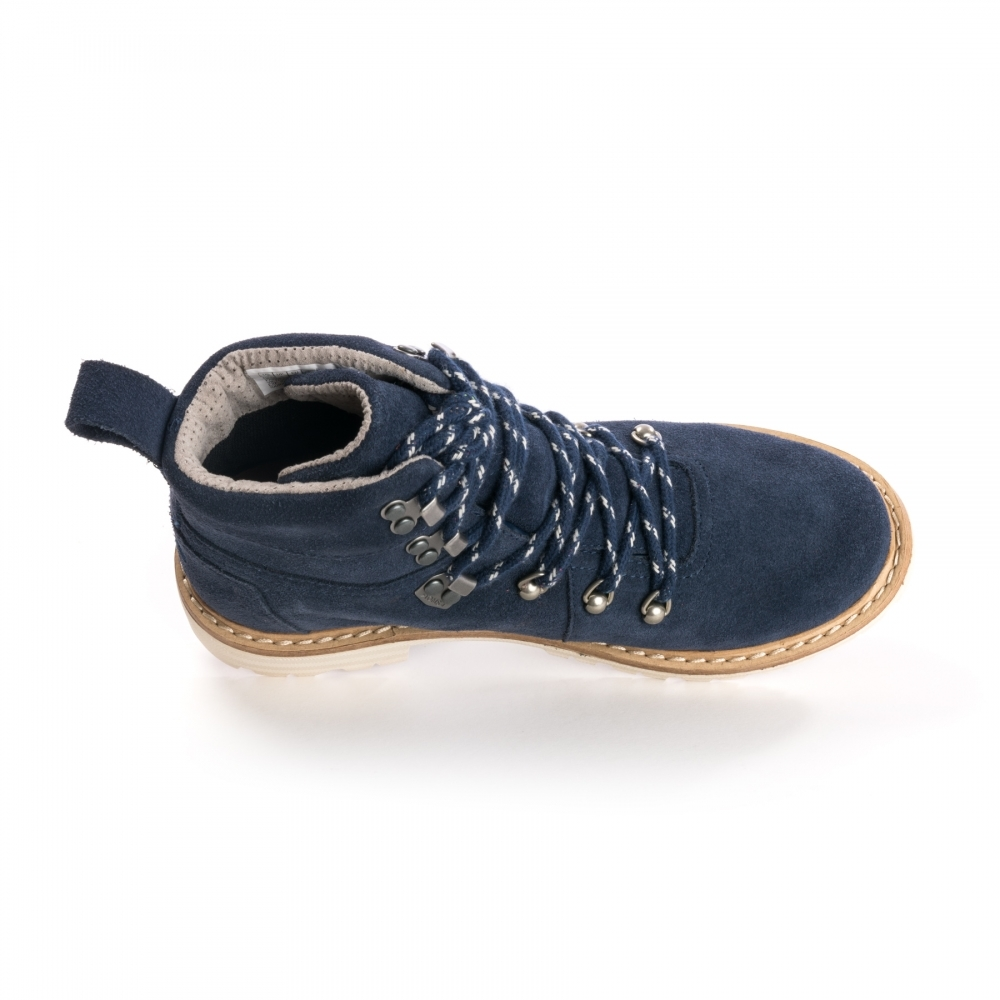 96d3b3068d4 TOMS TOMS Summit Navy Suede Womens Boot