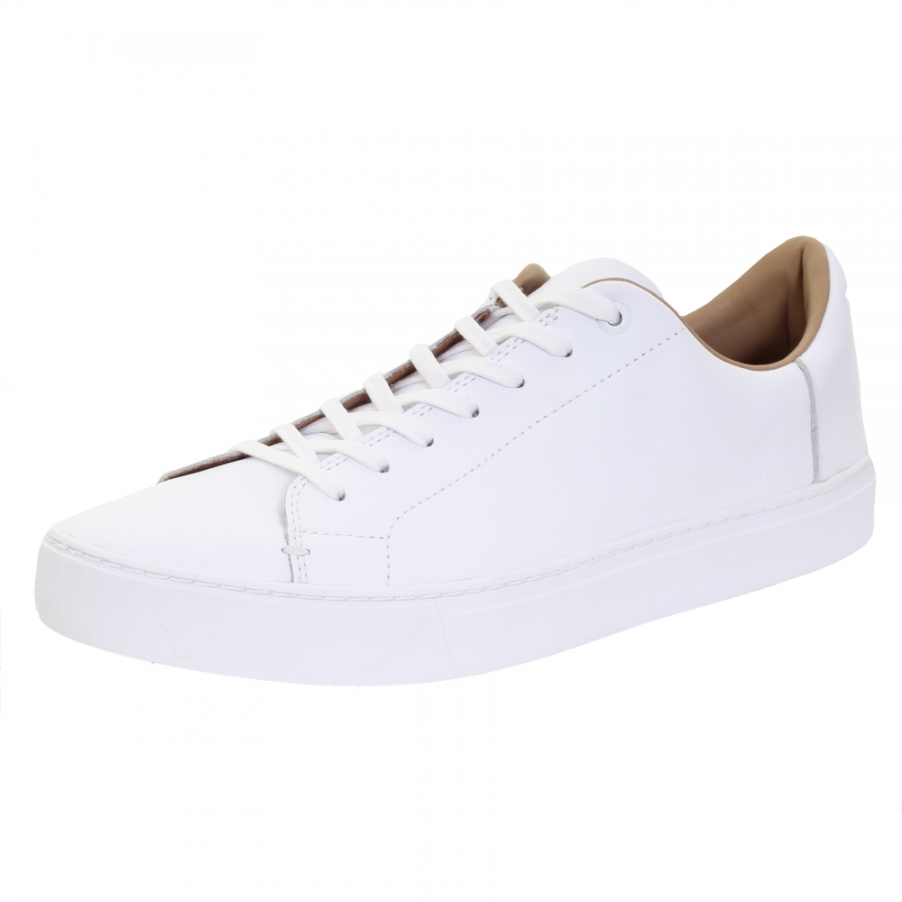 5fed1cfac TOMS White Leather Mens Sneaker - Mens from CHO Fashion and Lifestyle UK