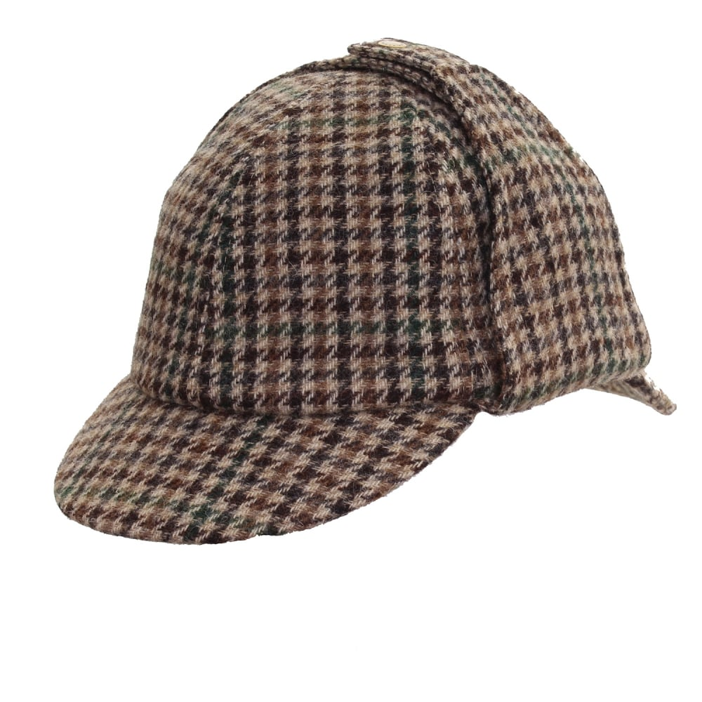 Barbour Tweed Mens Bede Cap - Accessories from CHO Fashion and ... 54a4bf7bdc9