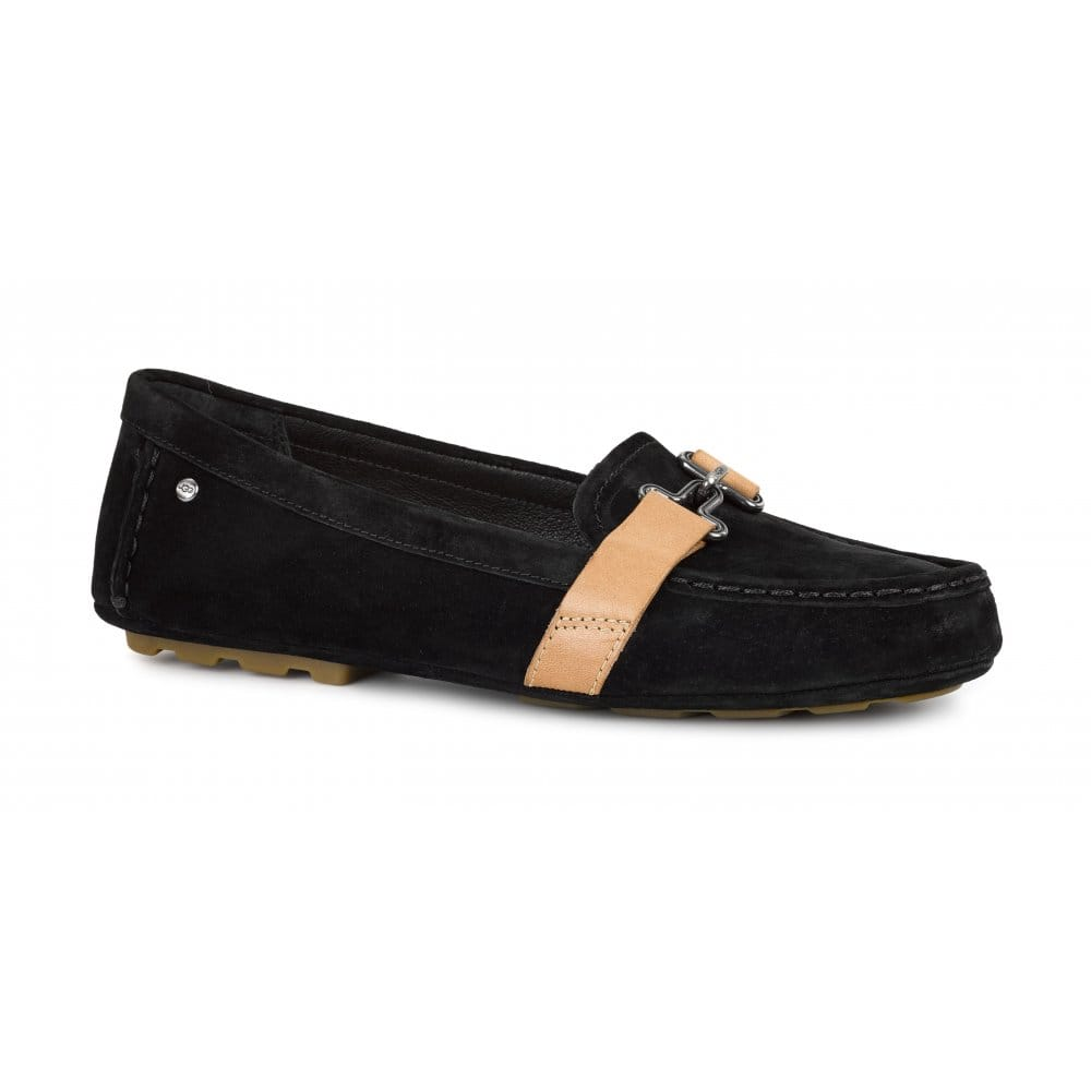 UGG Aven Womens Black Loafers