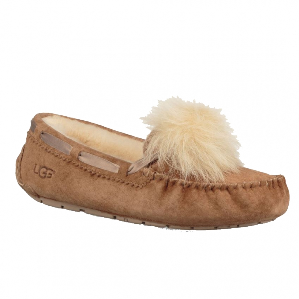 UGG Dakota Pom Pom Womens Slippers