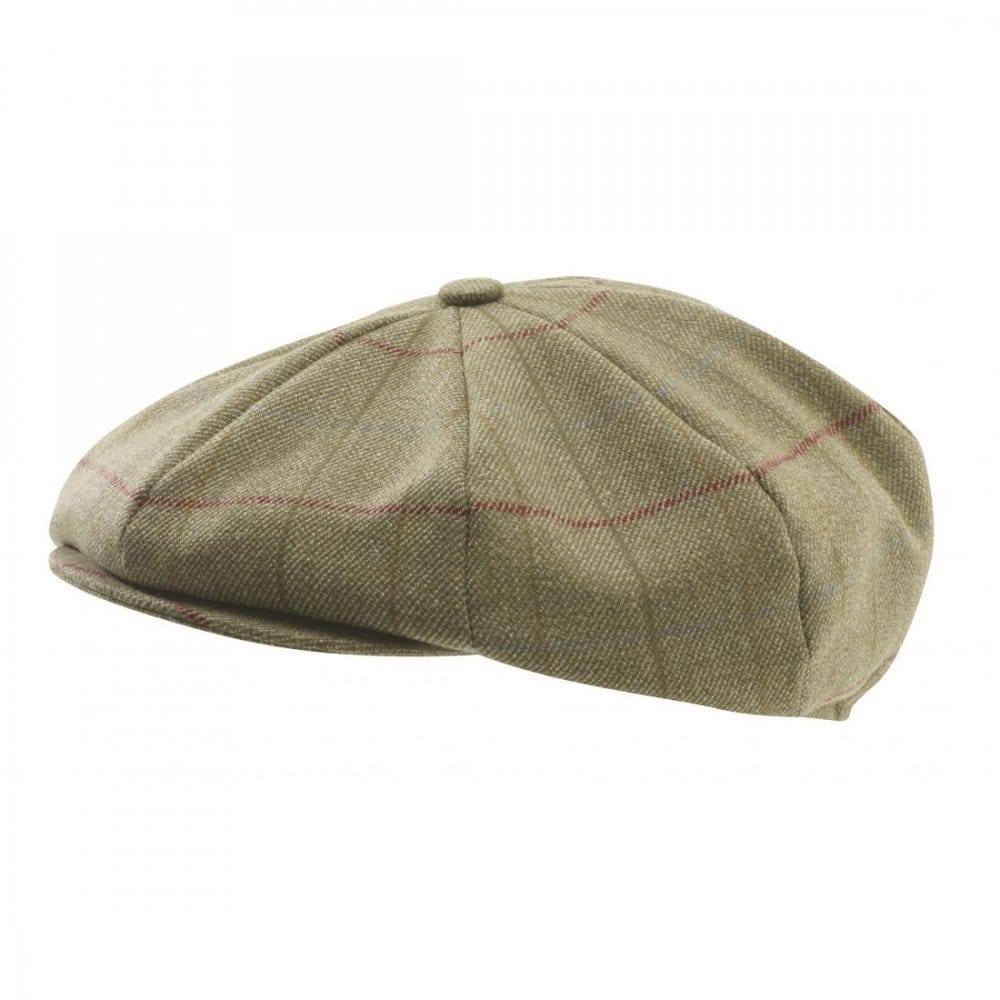 64306865050 Schoffel V8 Tweed Cap Schoffel from Country House Outdoor UK