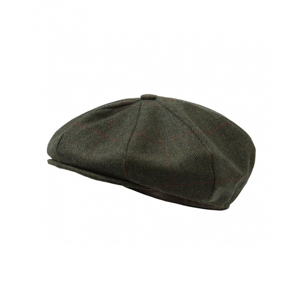 Schoffel V8 Tweed Cap - Accessories from CHO Fashion and Lifestyle UK db19b2fe7ae8