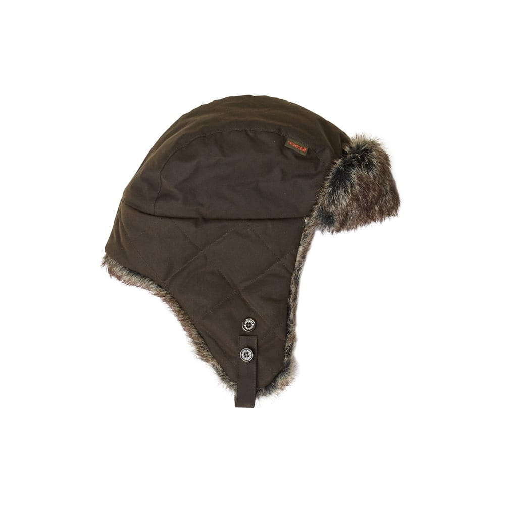 80e320cf6f0b1 Barbour Wax Grassmere Trapper Mens Hat - Accessories from CHO ...
