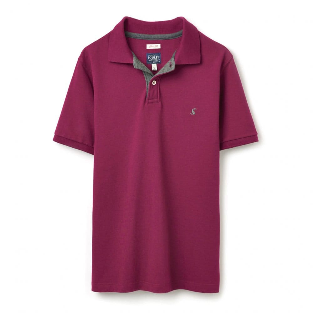 Joules woody mens slim fit polo shirt t joules from for Mens slim fit polo shirt