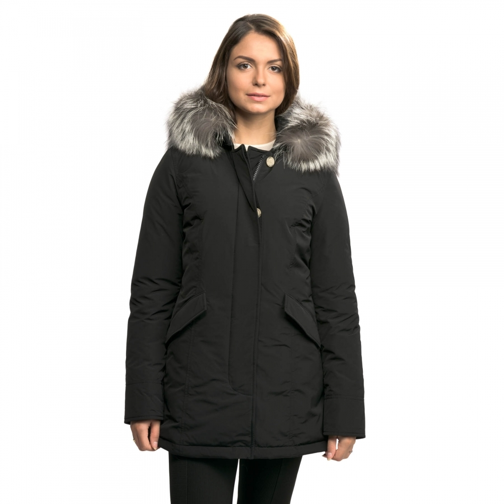 new style d040e 9d250 Woolrich Woolrich Luxury Arctic Fox Womens Parka AW17