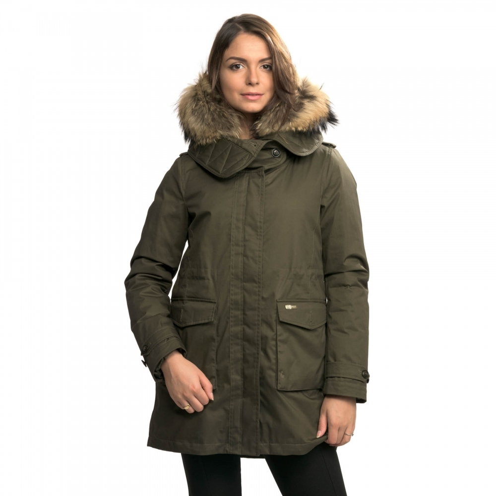 woolrich scarlett eskimo womens jacket womens from cho fashion and lifestyle uk. Black Bedroom Furniture Sets. Home Design Ideas