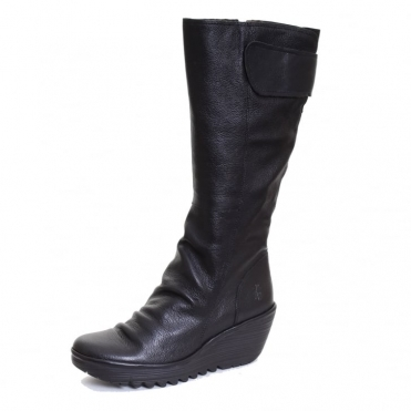 Yulo688Fly Ladies Boot